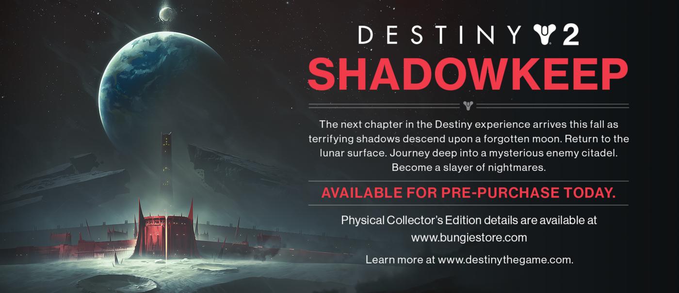 "destiny 2 new expansion, Report: Destiny 2 New Expansion ""Shadowkeep"" Leaks, MP1st, MP1st"