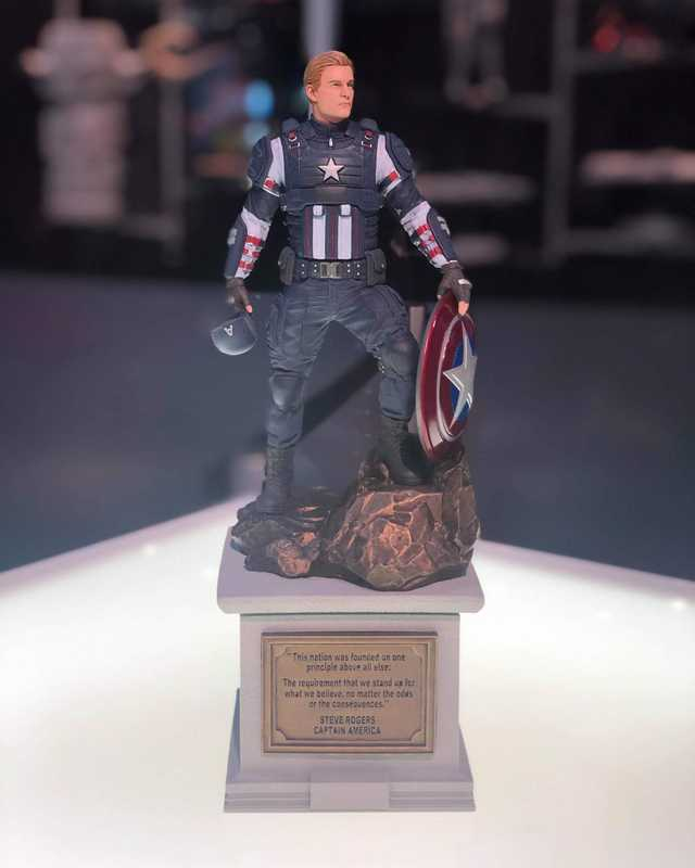 avengers game collectors edition, Marvel's Avengers Collector's Edition Will Include a Captain America Statue, Here's Our First Look, MP1st, MP1st
