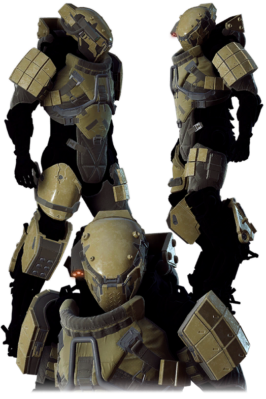 Barrage Ranger Armor