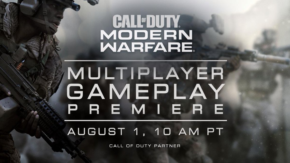 modern warfare multiplayer gameplay, Call of Duty: Modern Warfare Multiplayer Gameplay Livestream, Full MP Reveal Happening August 1, MP1st, MP1st