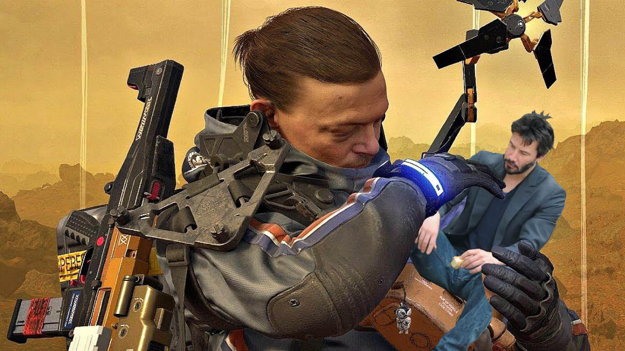 'Death Stranding' Almost Had Keanu Reeves In It