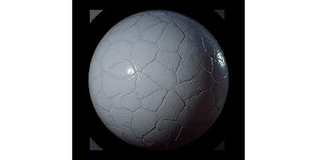 Gemstone Amethys Painted