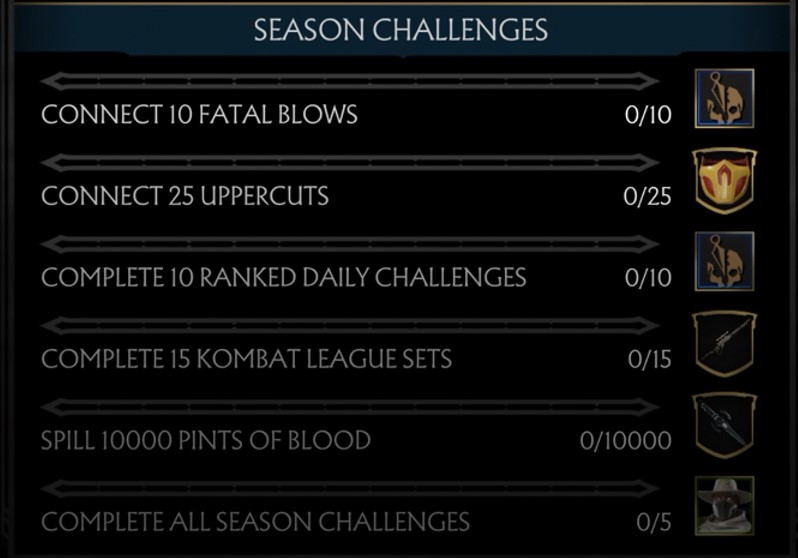 mortal kombat 11 kombat league season 2, Mortal Kombat 11 Kombat League Season 2 Begins, Here Are the Rewards and Challenges for Competing, MP1st, MP1st