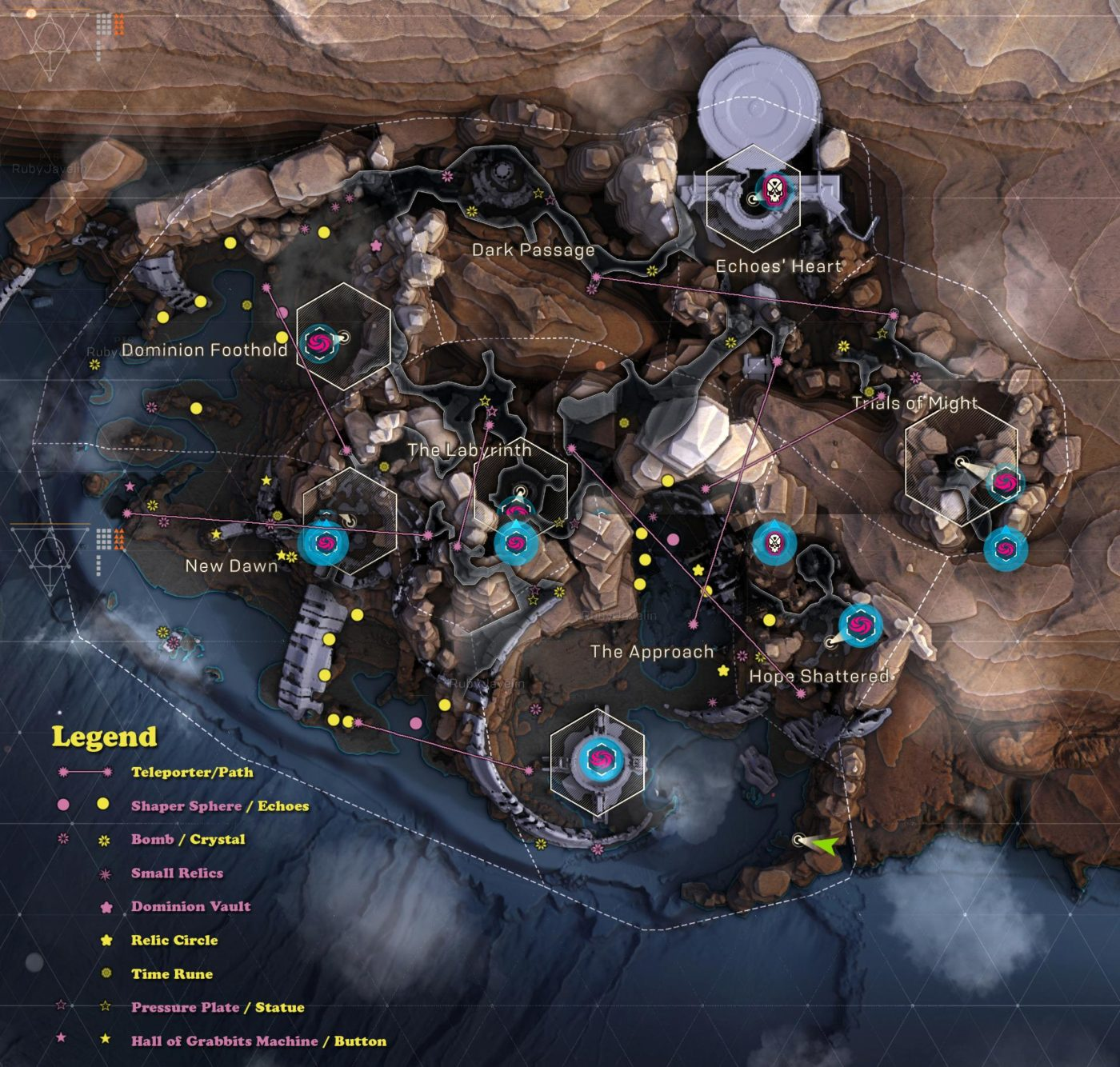 anthem cataclysm map, Anthem Cataclysm Map Revealed (Potential Spoilers), MP1st, MP1st