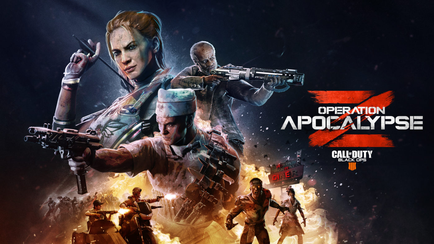 Operation Apocalypse Z arrives in Black Ops 4 today