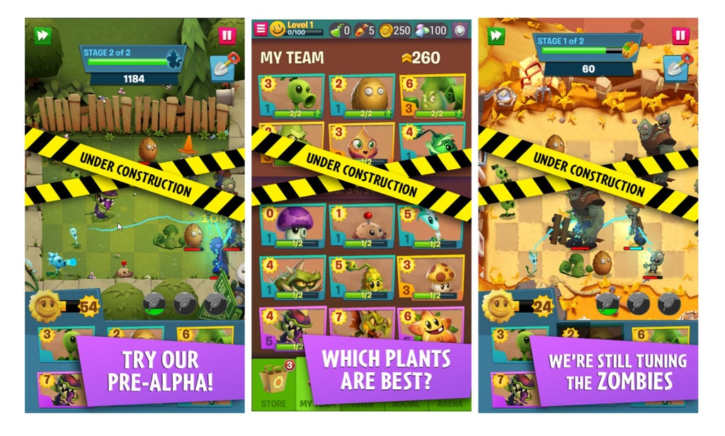 plants vs zombies 3, Plants vs Zombies 3 Confirmed and Now in Pre-Alpha, Early Screens Show 4 Types of Currencies, MP1st, MP1st