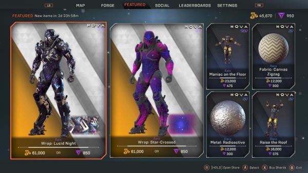 Anthem store update, Anthem Store Update August 13, 2019 – Prospero Items List, MP1st, MP1st