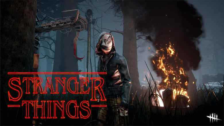dead by daylight x stranger things gameplay
