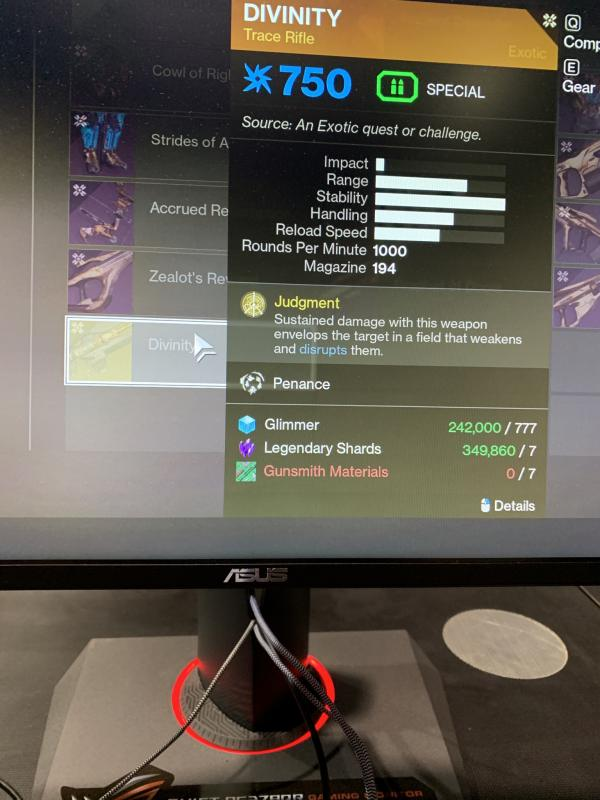 Destiny 2 New Exotics Spotted in Shadowkeep PAX West Demo