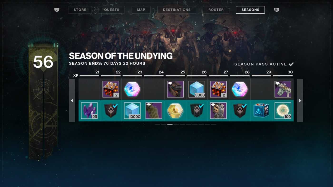 Destiny 2 Seasons Getting Season Pass Like Fortnite's Battle Pass
