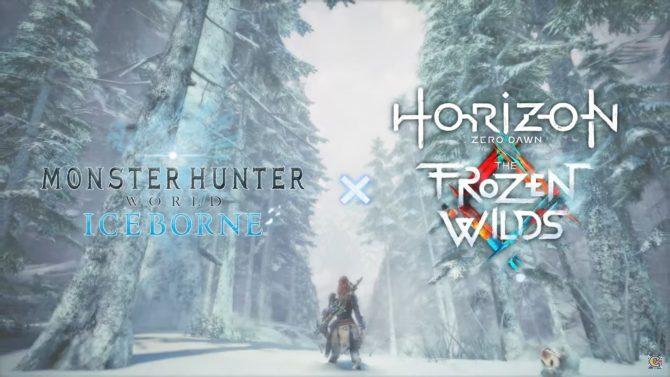 monster hunter world iceborne horizon zero dawn
