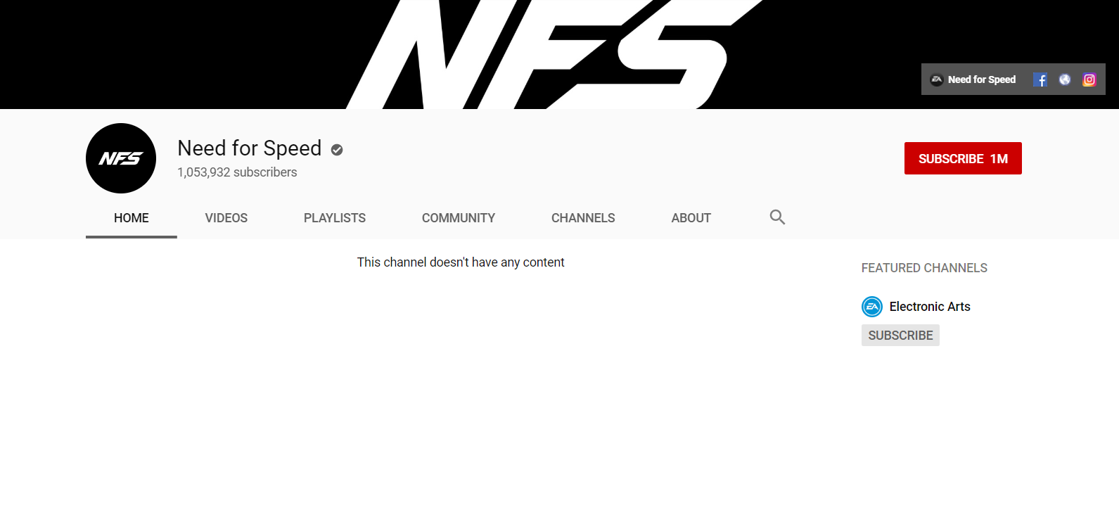 need for speed, EA Is Purging Need for Speed Social Media and YouTube of Past Game References Ahead of Need for Speed 2019 Reveal, MP1st, MP1st