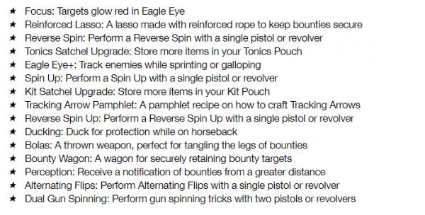 bounty hunter list