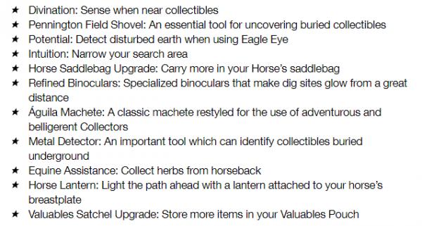 collector list