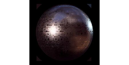 damascus-circles-metal