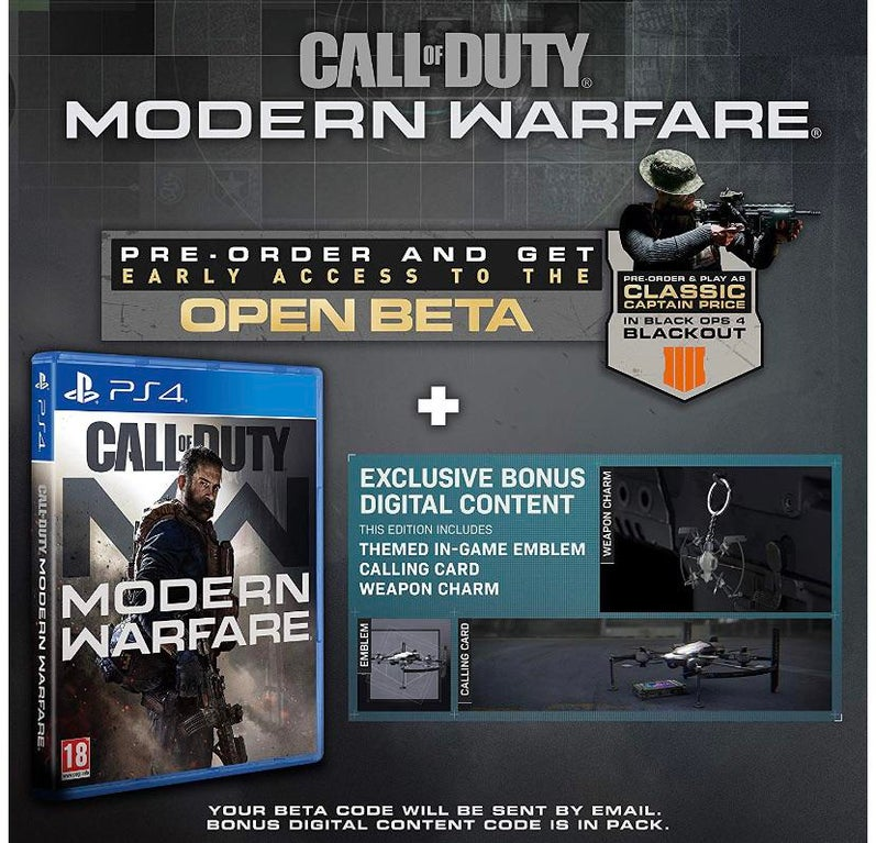 modern warfare gun charms