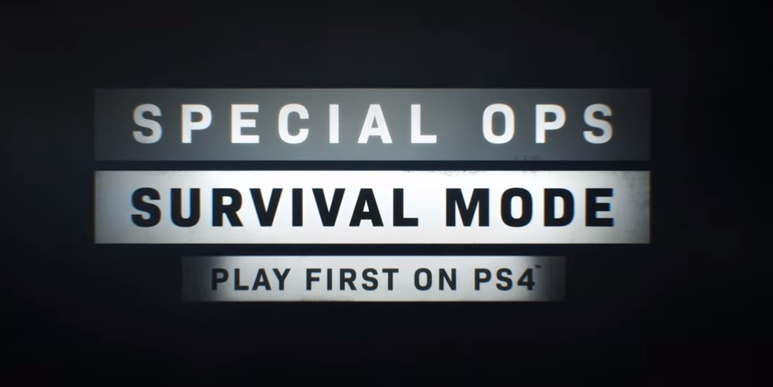 modern warfare spec ops, Call of Duty: Modern Warfare Spec Ops Survival Mode Will Be Exclusive to PS4 for a Year, MP1st, MP1st