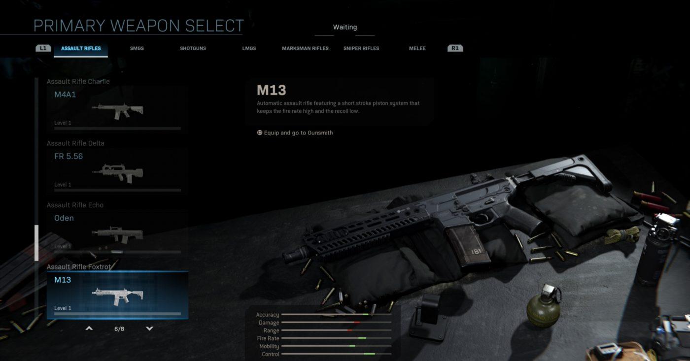 M13 Modern Warfare