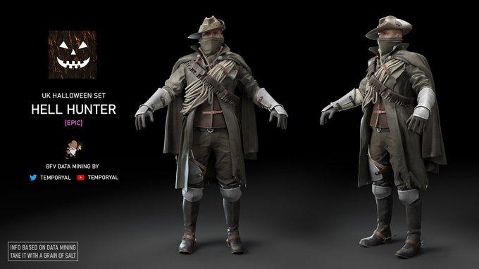 battlefield 5 halloween skins, Battlefield 5 Halloween Skins Unearthed via Datamining, MP1st, MP1st