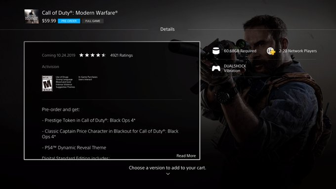 'Call of Duty: Modern Warfare' swaps loot boxes for a battle pass