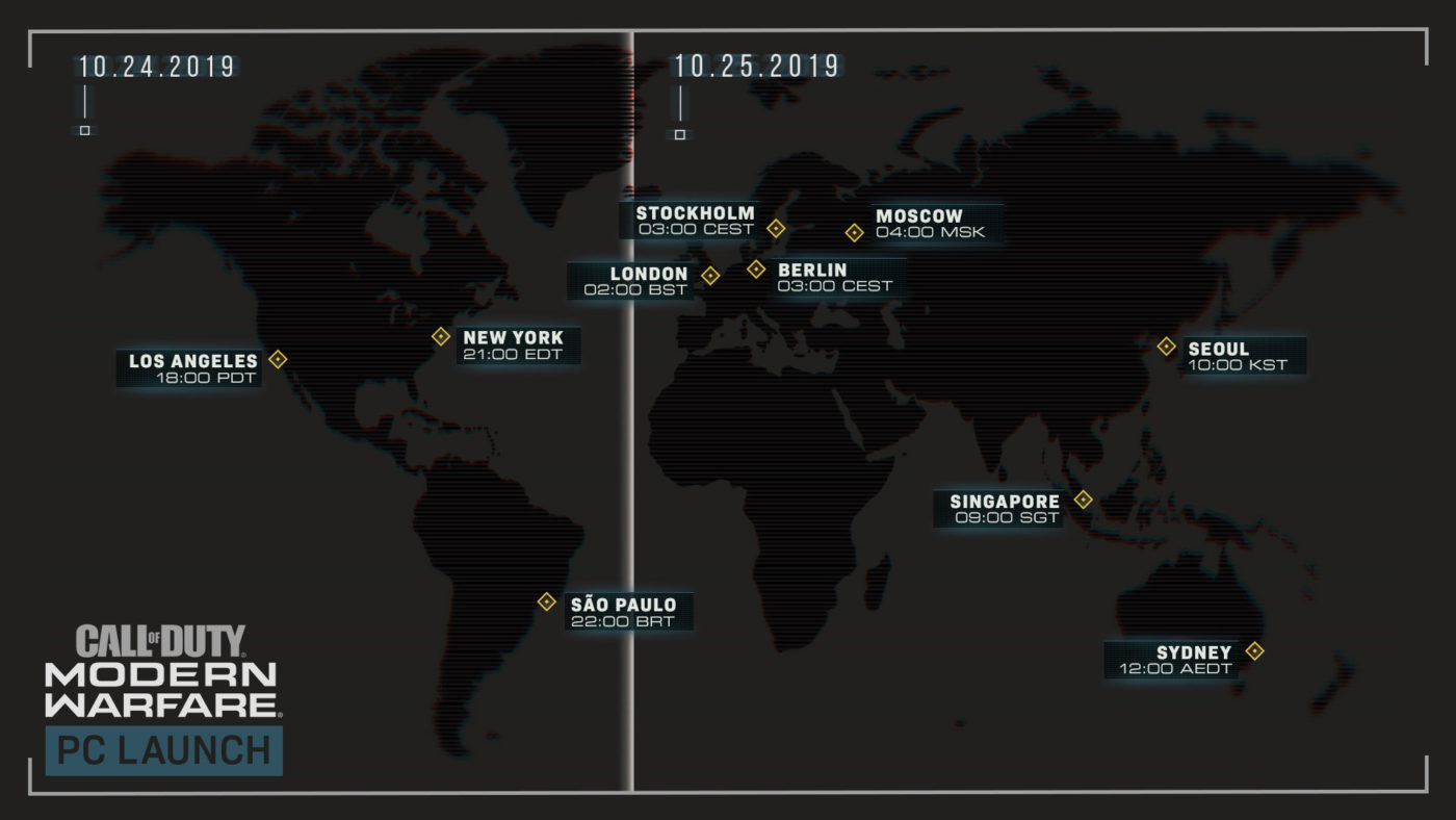 modern warfare preload info, Call of Duty: Modern Warfare Preload Info Revealed, New PC Trailer Released, MP1st, MP1st