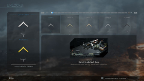 Call of Duty: Modern Warfare Progression System Details Revealed, Prestige Replaced by Officer Ranks