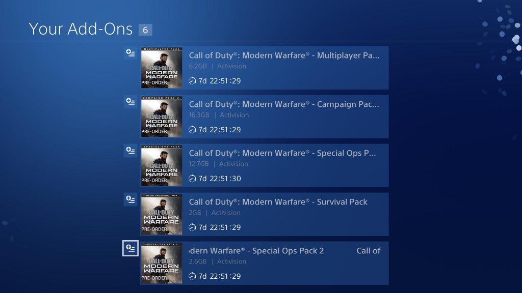 modern warfare pre order bonuses, Call of Duty: Modern Warfare Pre-Order Bonuses Work Across All Platforms, Spec Ops Survival Separate Download on PS4, MP1st, MP1st