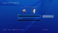 ps4 facebook connect error