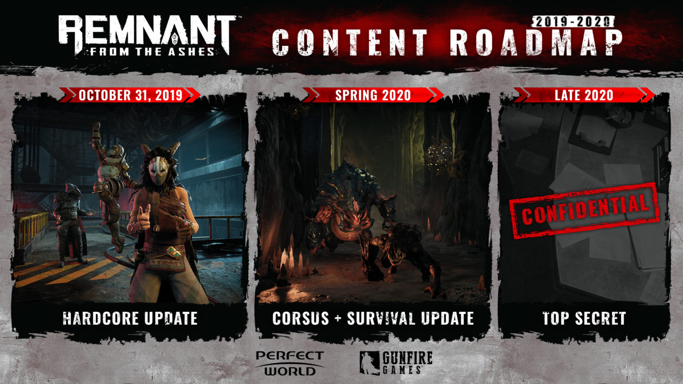 remnant from the ashes new roadmap, Remant From the Ashes New Roadmap Revealed, Hardcore Mode Out Tomorrow, MP1st, MP1st