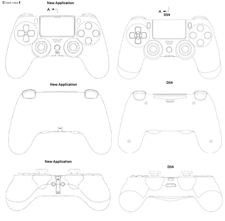 ps5 controller, PS5 Controller Patent Possibly Gives Us a Peek at the Design, MP1st, MP1st