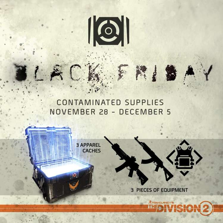 the division 2 black friday, There's a The Division 2 Black Friday Giveaway In-Game, MP1st, MP1st