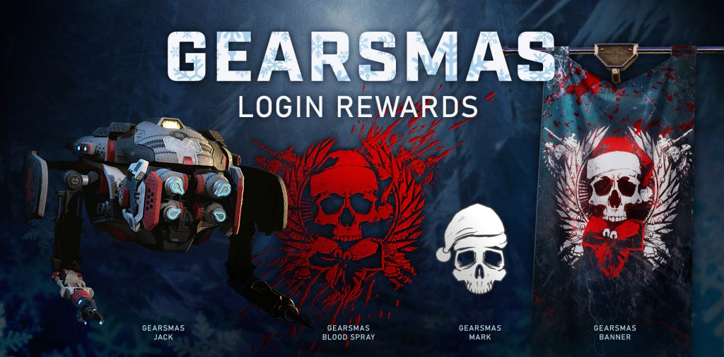 Gears 5 Update 1.1.142.0, Gears 5 Update 1.1.142.0 and Gearsmas Event Now Live (Patch 3.1), MP1st, MP1st
