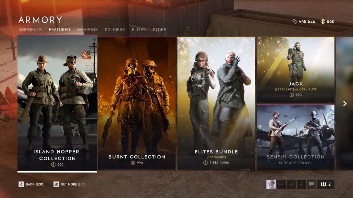battlefield 5 armory update, Battlefield 5 Armory Update (Dec. 3, 2019), MP1st, MP1st