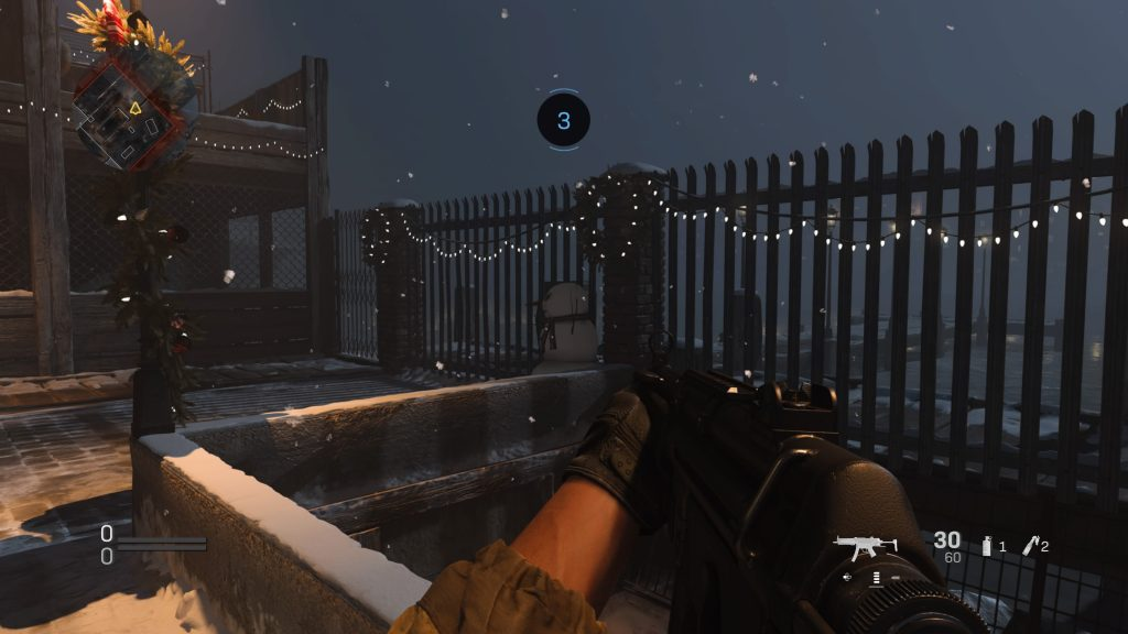 modern warfare snowmen easter egg