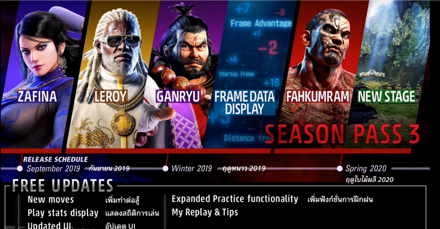 Tekken 7 new character Fahkumram coming to the game soon