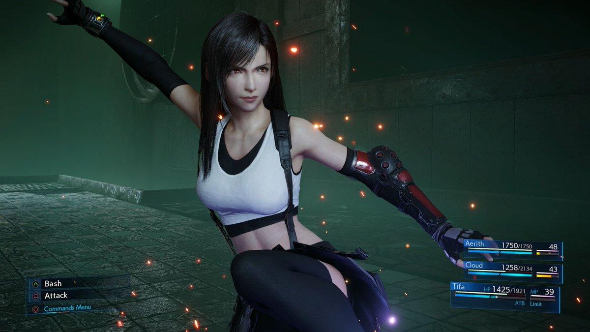 Final Fantasy 7 Remake Tifa PS4 Theme