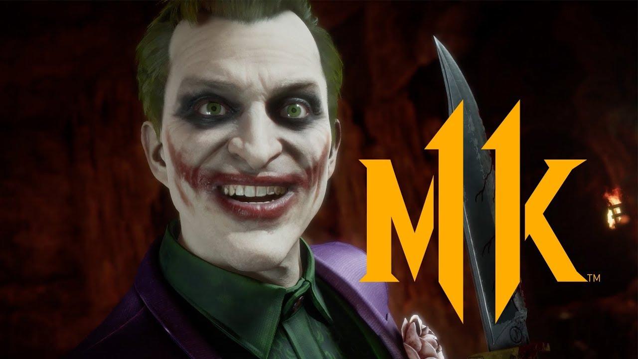 mortal kombat 11 joker gameplay