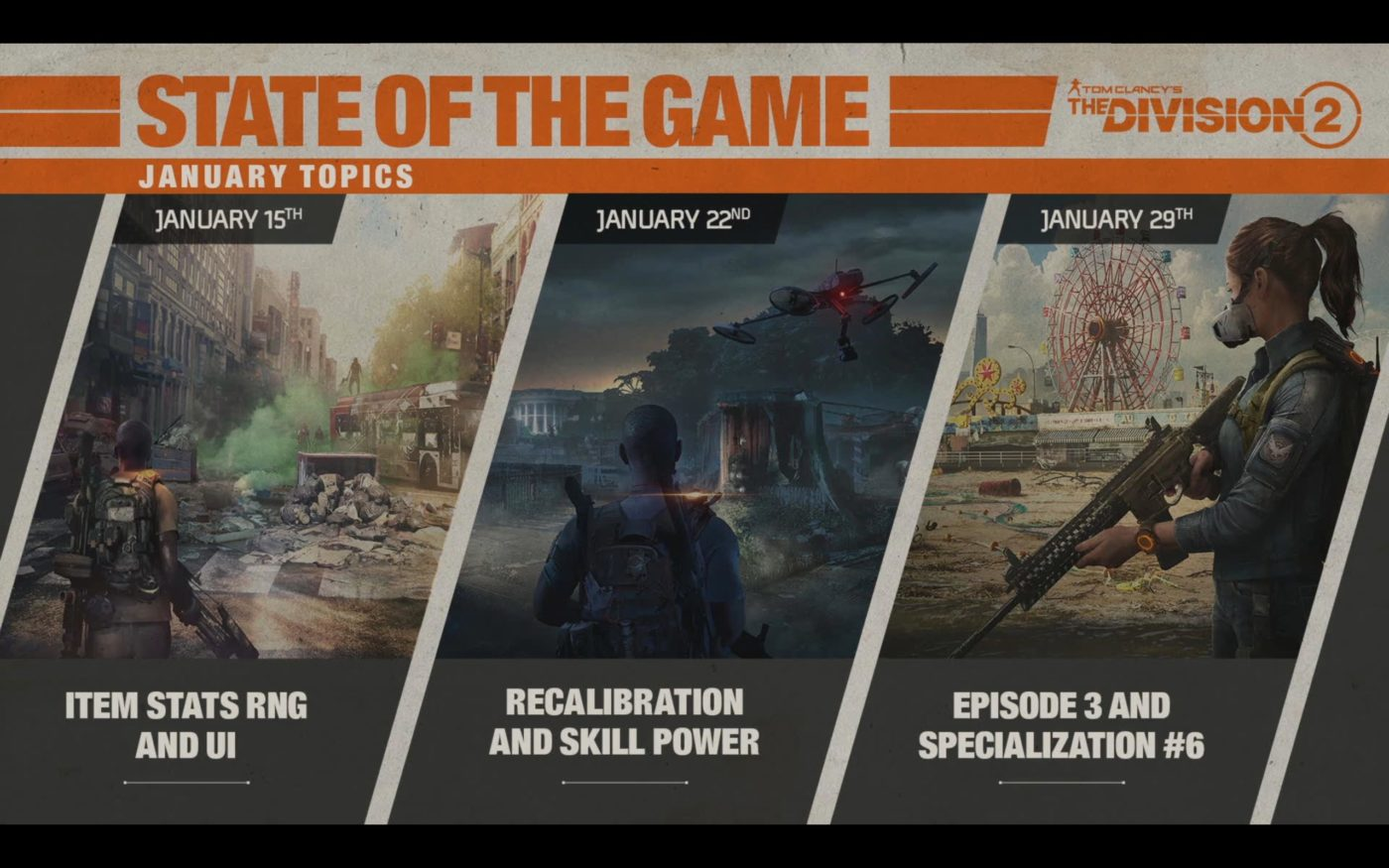 the division 2 episode 3 content, The Division 2 Episode 3 Content Listed, New Raid Won't Be Included, MP1st, MP1st