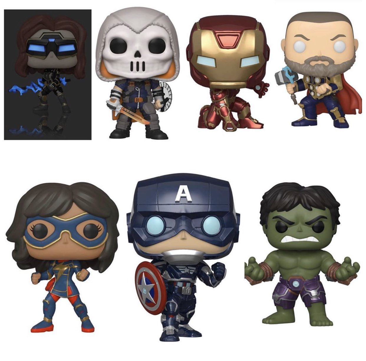 avengers game funko, Marvel's Avengers Game Funko Figures Revealed, Features Stark Tech Designs, MP1st, MP1st