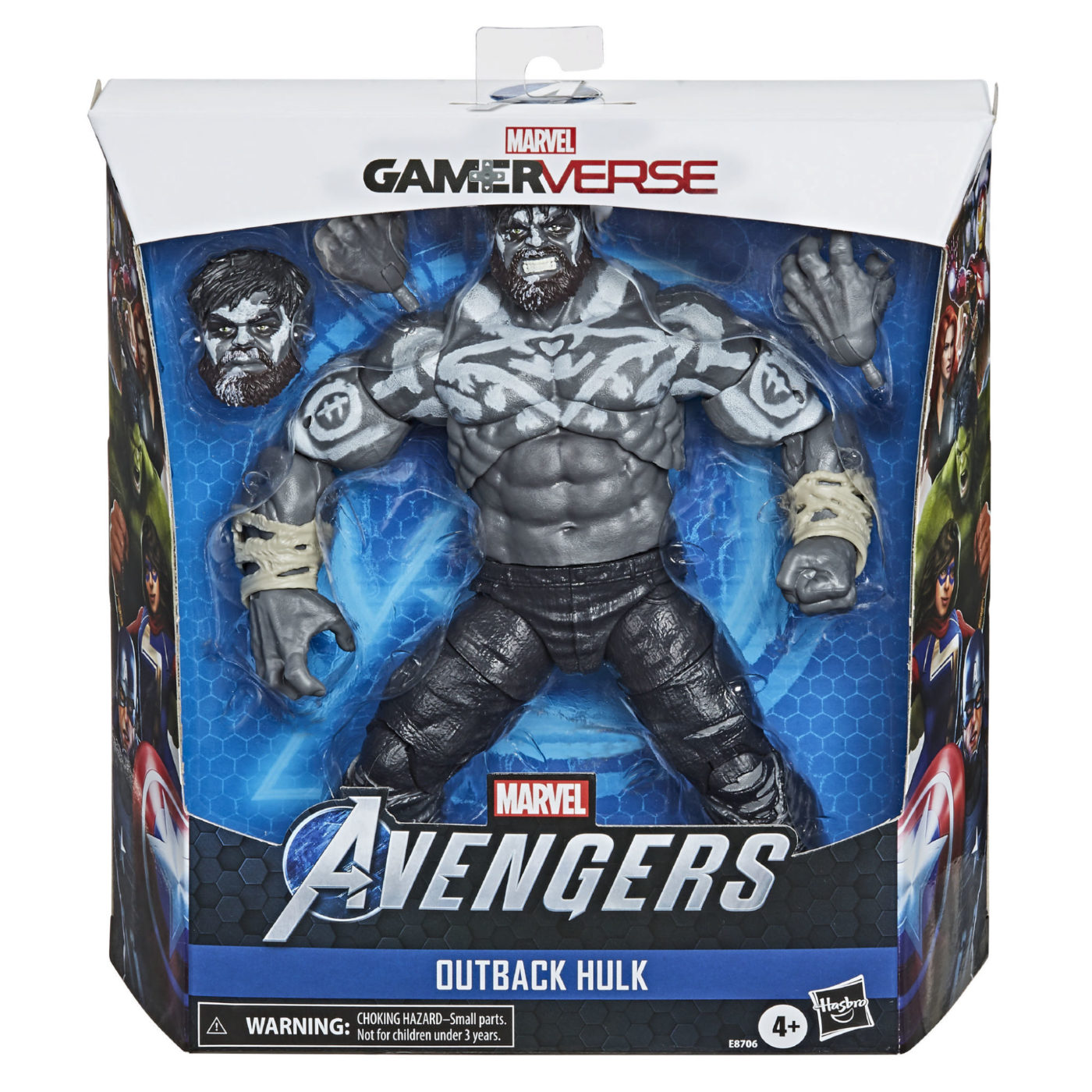 "marvel's avengers gamestop, Marvel's Avengers GameStop Exclusive Is the ""Outback Hulk"" and Includes an Action Figure, MP1st, MP1st"