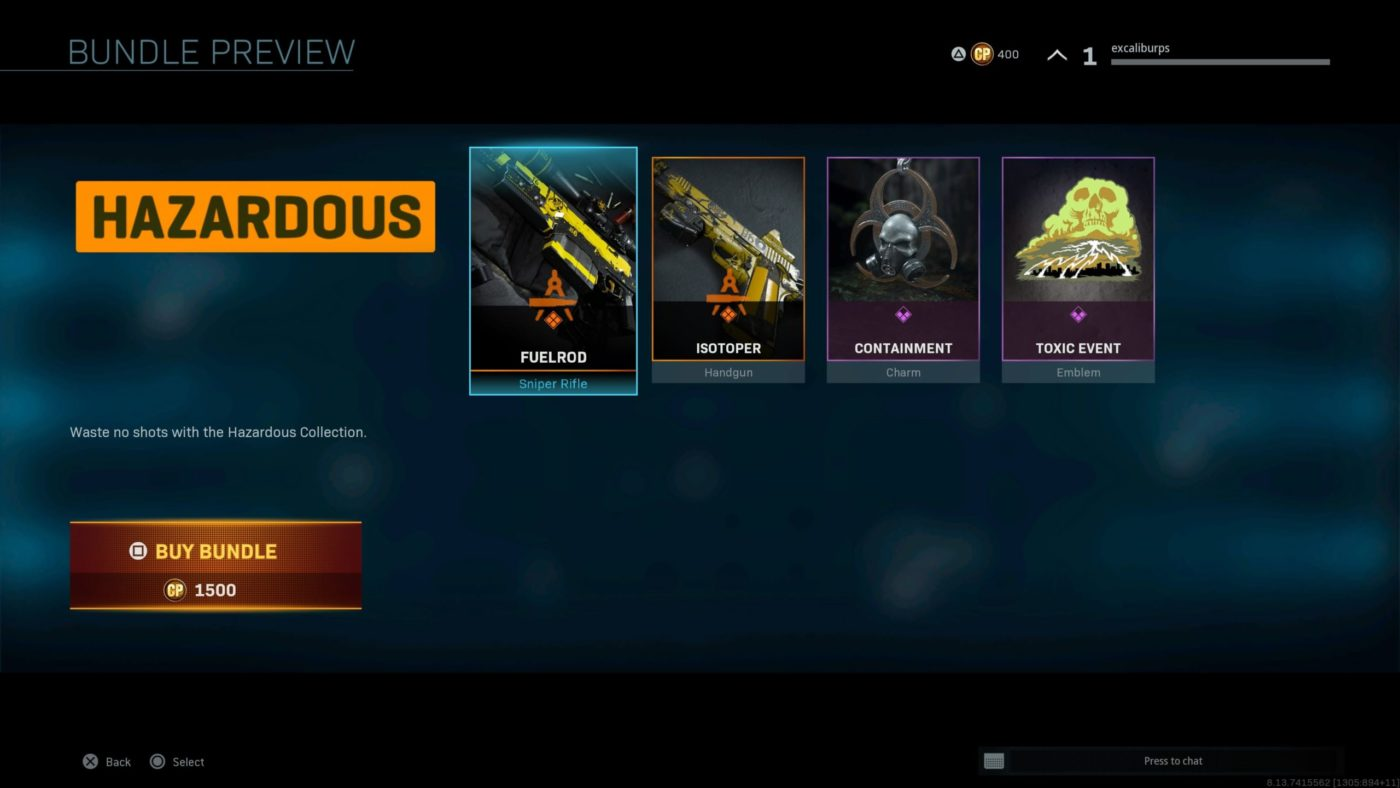 "modern warfare battle royale, Infinity Ward References ""Toxic Event"" in new Modern Warfare Cosmetic Items, MP1st, MP1st"