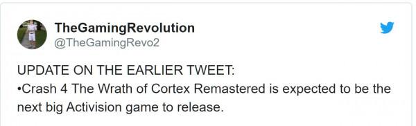 crash bandicoot 4 remaster, Rumor- Crash Bandicoot 4 Remaster & Crash PvP in Development, Sledgehammer Making F2P Call of Duty, MP1st, MP1st
