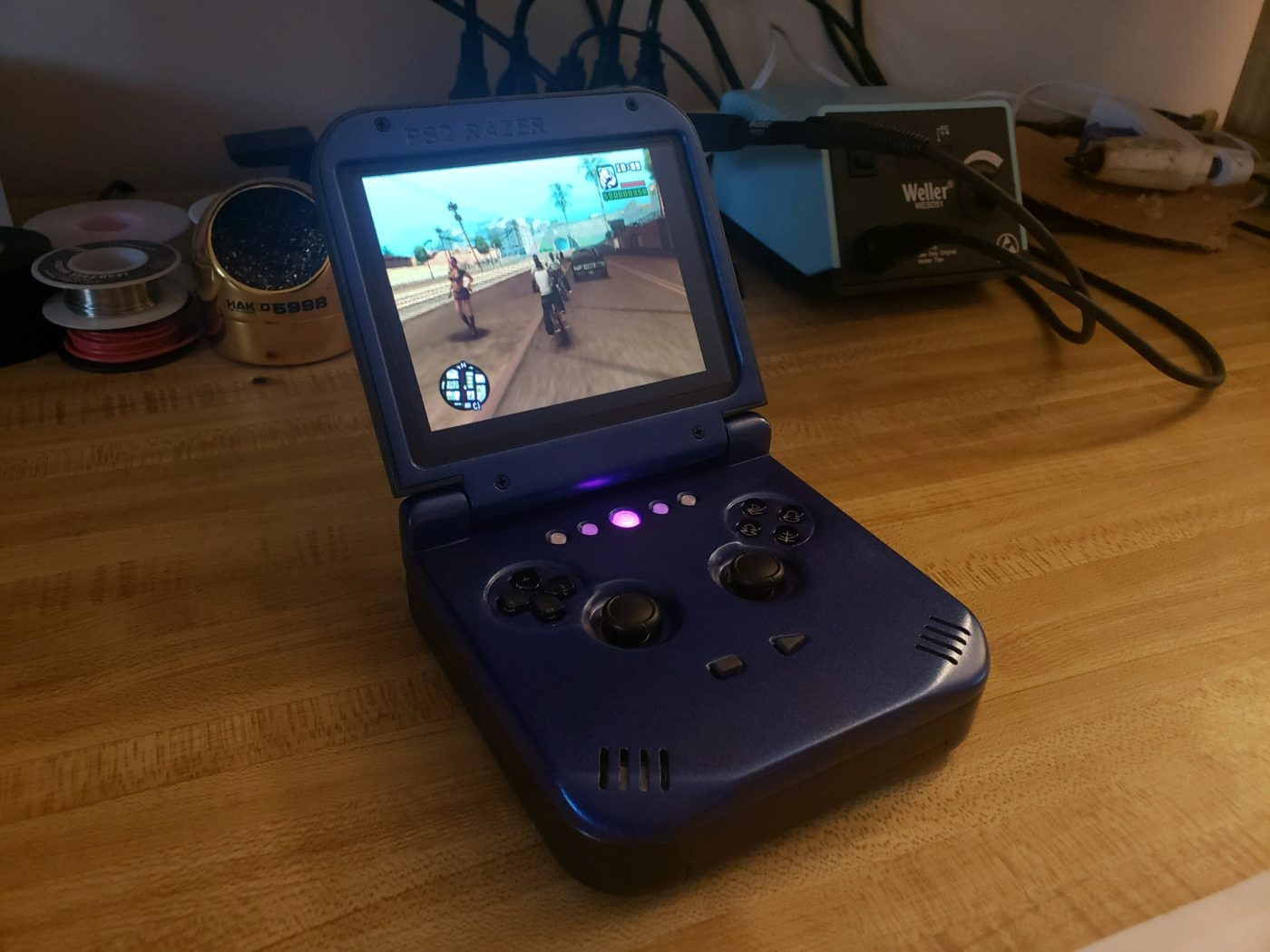 """n64 sp, Modder Turns N64 Into a Gameboy Advance SP called the """"N64 SP"""", MP1st, MP1st"""