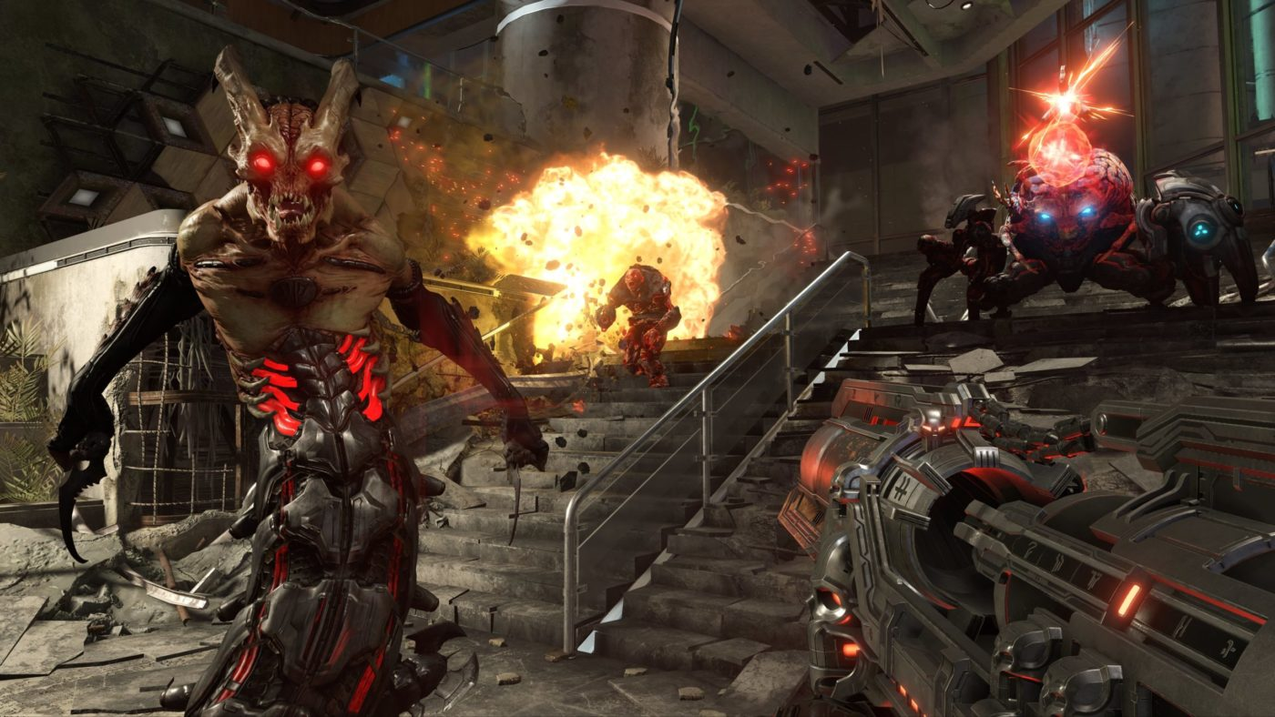 doom eternal review, Doom Eternal Review – Forever Gore, MP1st, MP1st