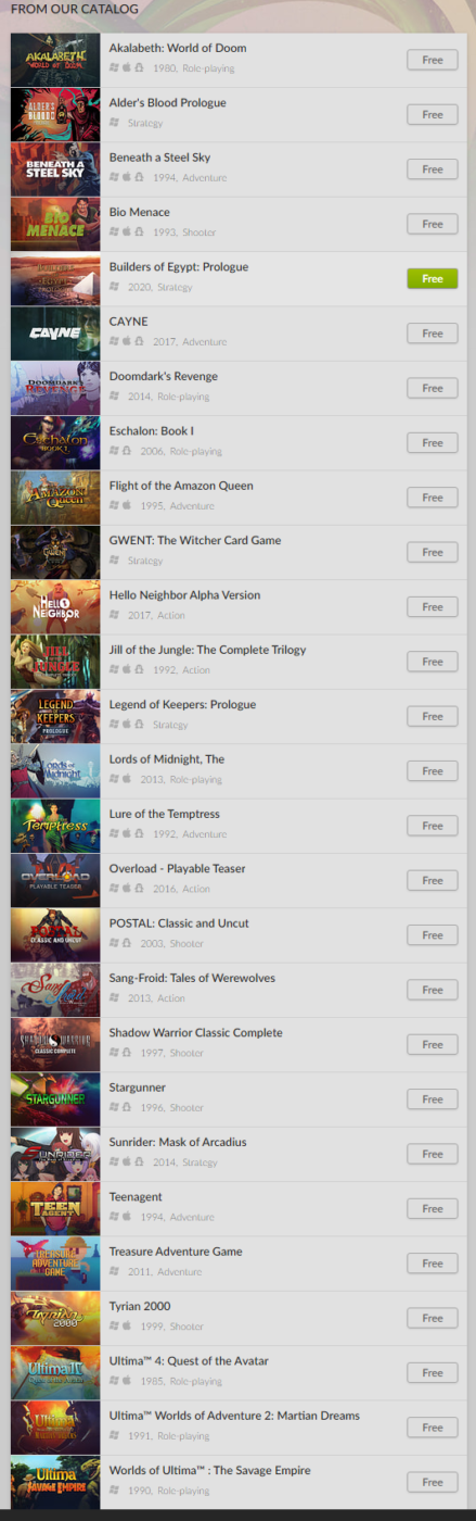 free games, Here Are the Free Games You Can Download Right Now While Stuck at Home, MP1st, MP1st