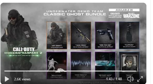 modern warfare 2 remastered, Modern Warfare 2 Remastered Now Up on PSN Store, Trailer Leaked, MP1st, MP1st