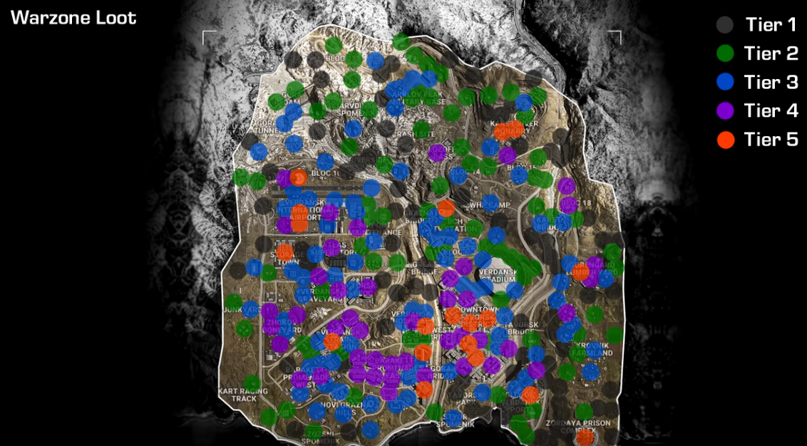 call of duty warzone map loot, Call of Duty Warzone Map Loot Locations Revealed, You Can Catch Downed Teammates in Mid-Air to Revive, MP1st, MP1st