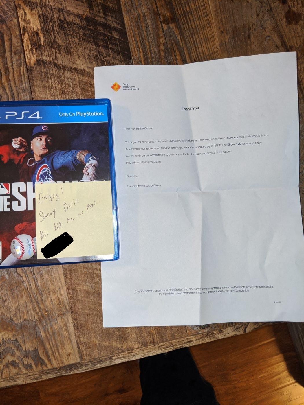 ps4, Sony Surprises Fan With Free Game After Sending PS4 in for Repairs, MP1st, MP1st