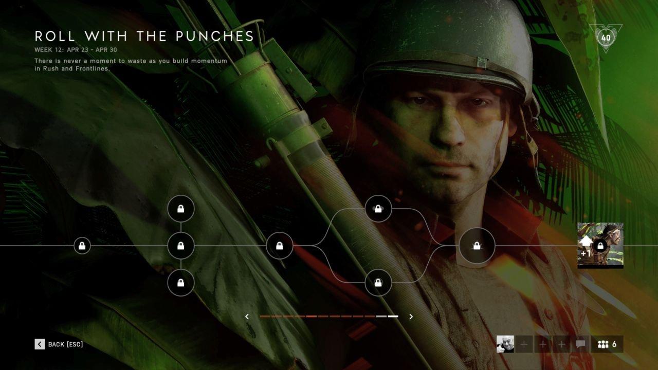 battlefield 5 weekly challenge reset