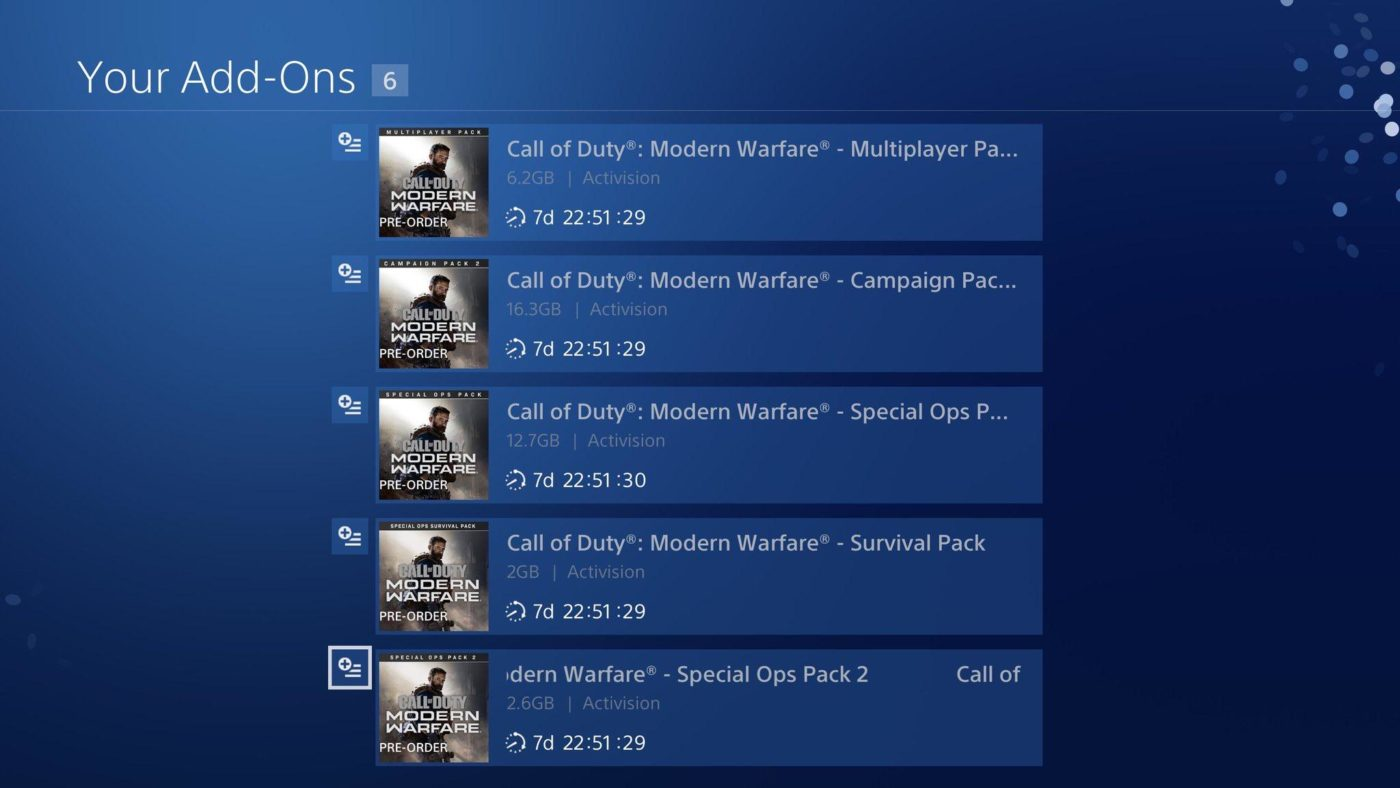 Modern Warfare Data Pack Download Clocking In At 15gb Coming To Ps4 Xb1 Next Week Mp1st